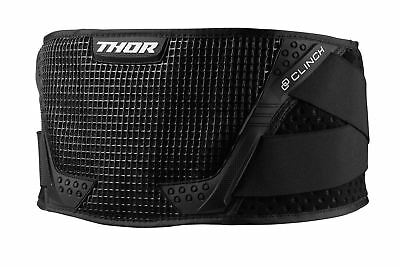 Thor Clinch Adult MX Kidney Body Belt Black/White Motocross Enduro