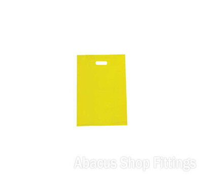 HDPE PLASTIC BAG SMALL - YELLOW Ctn/1000