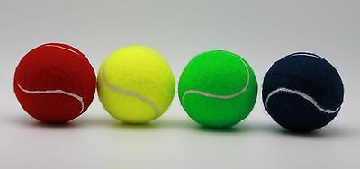 Price's Tennis Ball Colours Teaching Pack 4 balls Red, Yellow, Blue & Green