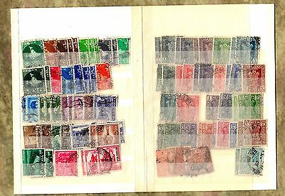 INDIA Postage Stamps EARLY - ANTIQUE Postally Used POSTMARKS