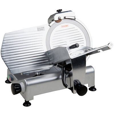 """NEW 12"""" Manual Gravity Feed Commercial Countertop Meat Slicer - 1/3 hp 177SL312"""