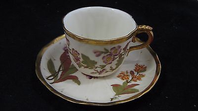 Antique Royal Worcester Cup and Saucer ,#178