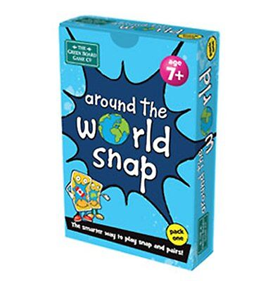 Around the World (Pack 1) Snap + Pairs Card Game - BrainBox - Geography Resource