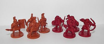 Russian toy soldiers. Tehnolog. Romans vs Barbarians. 28 mm