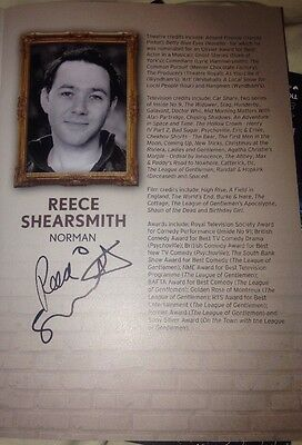 Reece Shearsmith Signed The Dresser Theatre Programme The League Of Gentlemen
