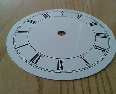 Clock Dial 131mm Roman Enam