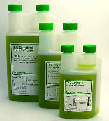 Aquarium Plant Food Liquid Fertilizer from The Nutrient Company - TNC Complete