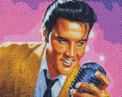 Elvis Presley Cross Stitch Chart