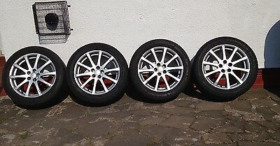 Toyota Avensis Alloy Wheels 17 Inch Set Of 4