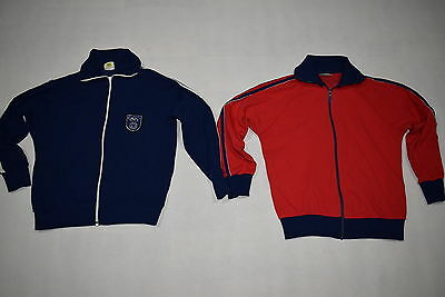 2 Grasshoppers Trainings Jacke Track Top Jacket Kinder Kids 80s 80er Vintage 164