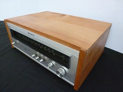 COFFRE  WOODCASE  tuner SONY  ST 5130