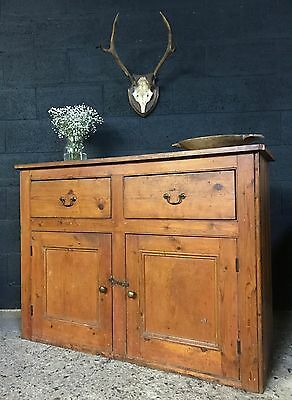 Victorian Antique Country Farmhouse Cupboard Sideboard Dresser Base