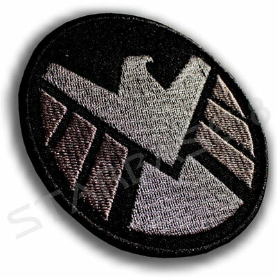 S.H.I.E.L.D. COSTUME PATCH - VERSION 2 / ca. 8 cm KOSTÜM AUFNÄHER BLACK WIDOW