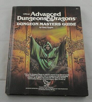 Advanced Dungeons & Dragons Dungeon Masters Guide TSR2011 DM's Doorway Cover