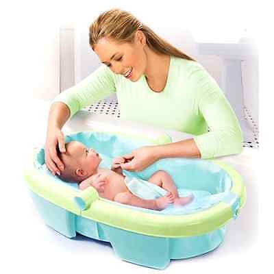 Summer Infant - Newborn-to-Toddler Portable Folding Bath Tub, Shower, Baby, NEW