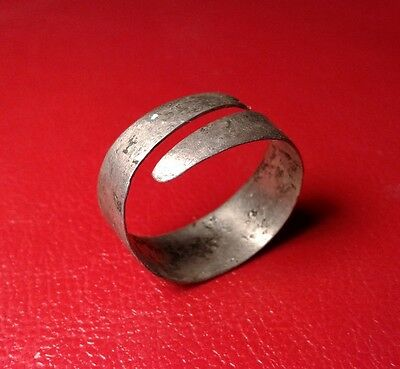 Ancient Silver Ring X-XIII Centuries.