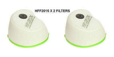 Kawasaki Kx250 Hiflofiltro Air Filter Fits Years 2004 To 2005 Hff2015 X2 Filters