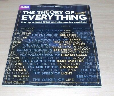 BBC Focus magazine Collection: The Theory of Nearly Everything Big Science Ideas