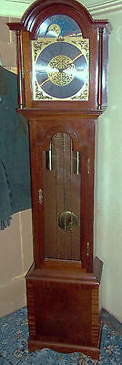 Mahogany Westminster Chime Longcase/grandfather Clock Hermle Mvt Richard Broad