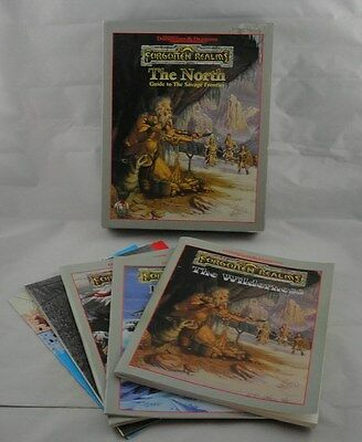 AD&D Advanced Dungeons & Dragons Forgotten Realms: The North TSR 1142 *COMPLETE*