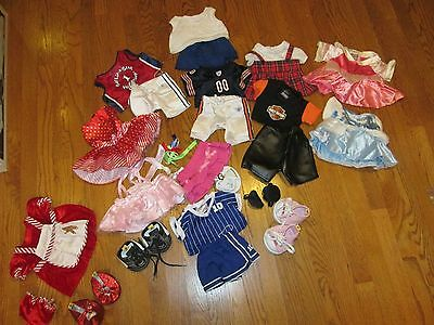 Huge Build A Bear Lot Of Clothes & Accessories Not Just Pieces But Outfits