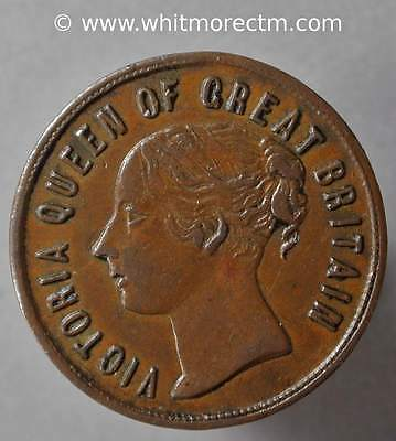 Unofficial Farthing Token Newcastle-under Lyme Highfield Grocer Tobacconist H175