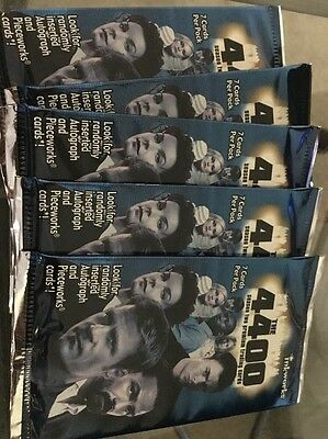 5 PACKS OF-THE 4400 Season Two Trading Cards