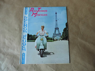 Revue Technique Motocycliste N°115 Annee 1956 - Special Scooter