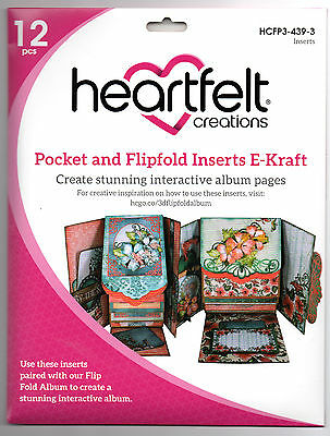Heartfelt Creations Pocket & Flipfold Inserts Album Pages