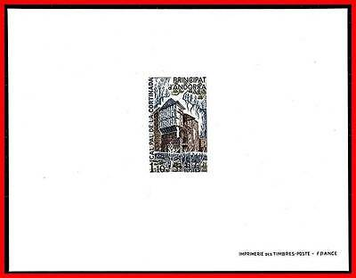 ANDORRA (FRANCE) 1980 FARM HOUSE deLUXE S/S MNH ARCHITECTURE (A11)