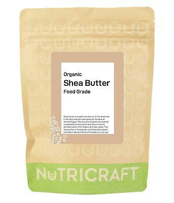 1kg organic unrefined SHEA BUTTER by NUKRAFT® - Natural moisturiser - Ghana