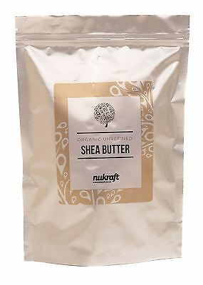 500g organic unrefined SHEA BUTTER by NUKRAFT® - Natural moisturiser from Ghana