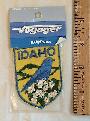 Vintage NIP IDAHO State Bird Embroidered Patch Badge