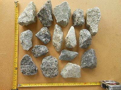 Granite rock pieces for the Aquarium or Fish Tank