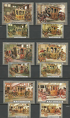old matchbox labels - horse carriages