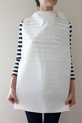 Disposable Geriatric Adult Bibs Case Of 300 Free Shipping