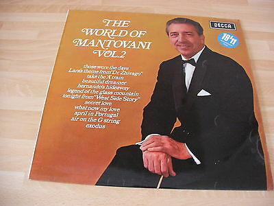 The World of Mantovani Vol. 2 (VInyl Record LP)