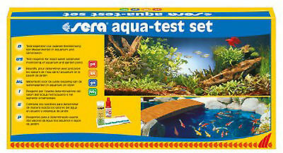 SERA AQUA TEST SET Analisis PH,KH,GH,NO2 Acuario y Estanque .ENVIO 24h.