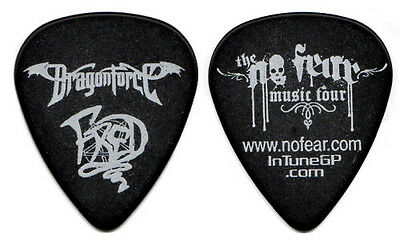 DRAGONFORCE Guitar Pick : 2006 No Fear Music Tour - Fred signature