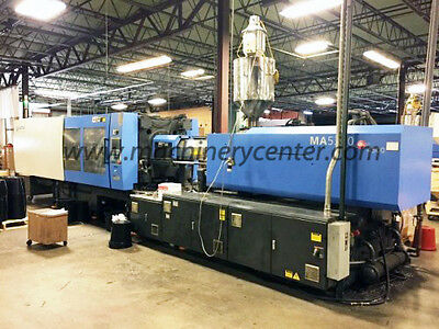 596 Ton, 110.93 Oz. Haitian Injection Molding Machine '08