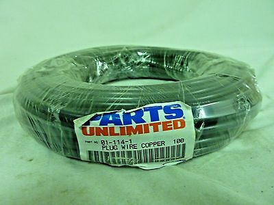 Parts Unlimited 01-114-1 Spark Plug Wire 100ft Roll