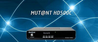 Mutant HD 500 c hdtv DVB-C mut@nt cable receiver Linux e2 USB PVR ca HD Ethernet
