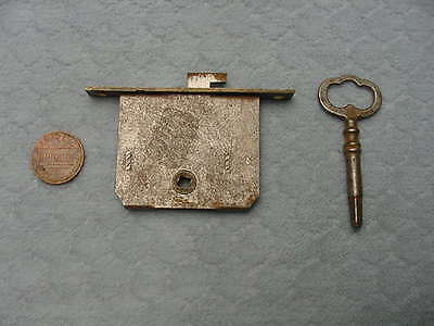 Full Mortise Drawer Lock Cabinet Sewing Machine Victrola Vintage