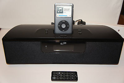 iLIVE ISP389B Portable Speaker System Docking for iPod, 2 aux inputs + Remote