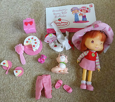 Strawberry Shortcake Doll And Accessories Toys