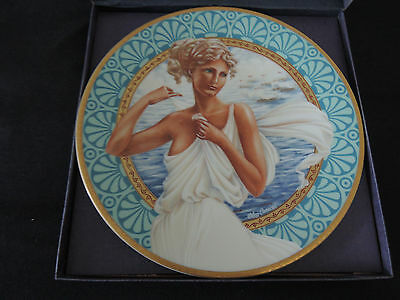 Oleg Cassini - Most Beautiful Women All Time Collector Plate - HELEN OF TROY