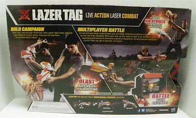 Lot 2 Each New In Sealed Box Hasbro 2012 Single Player LAZER TAG!