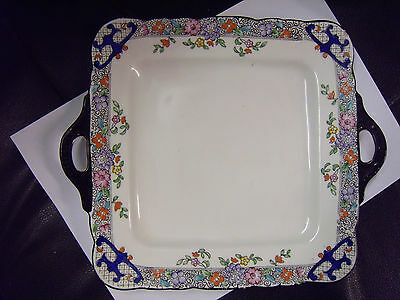 ......square 225x 220 mm Delightful Collectors Plate SutherLAND Made in England