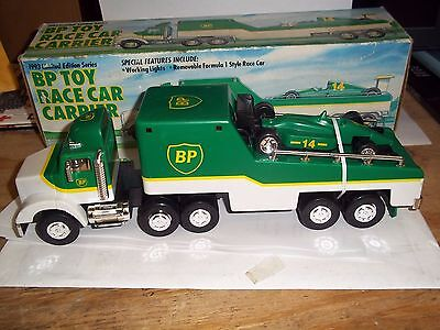 1993 Bp Toy Race Car Carrier Limited  Edition Series New In Box