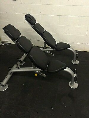 Escape commercial adjustable weight bench. Gym equipment